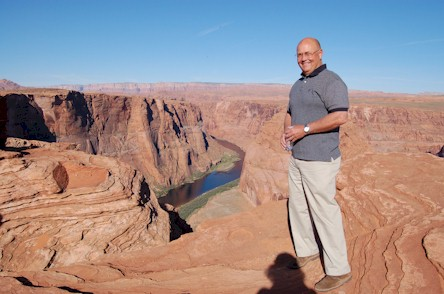 Tim at Horseshoe Bend
