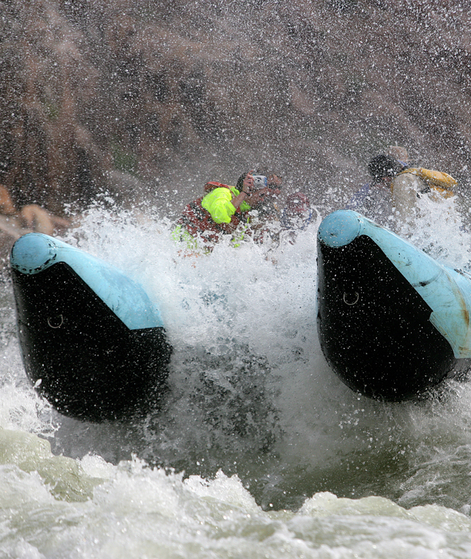Grand Canyon white water rafting