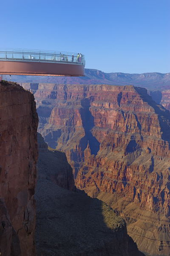 Grand Canyon Skywalk tour from Los Angeles