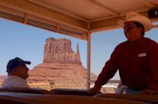 Monument Valley bus